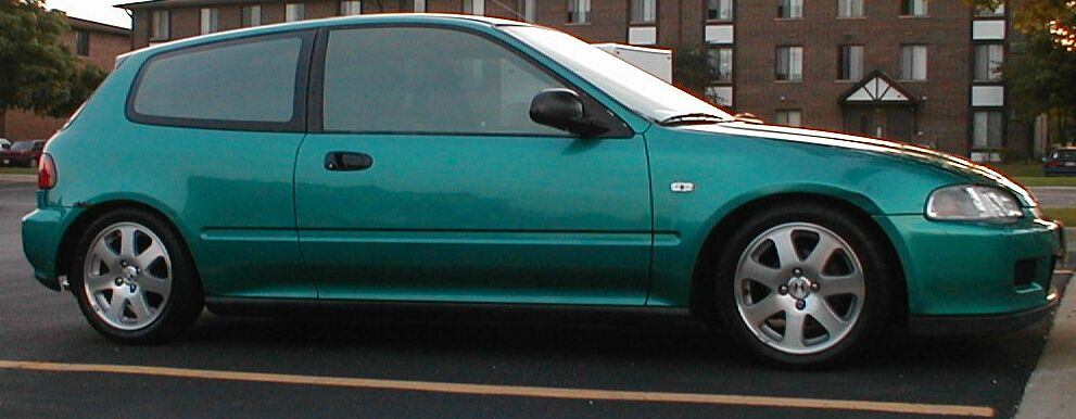 Pic Request 96 00 Civic Si Rims On A 92 95 Hatch