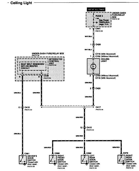 2001 Honda Civic Wiring Diagram